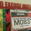 MEDAL HANGER - GANTUNGAN MEDALI - NO EXCUSE JUST RUN