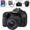 CANON EOS 80D KIT 18-55IS STM ... DATASCRIP NEW !!