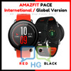 AMAZFIT PACE Smartwatch English International Red Black Xiaomi Huami