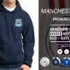HOODIE MANCHESTER CITY - JAKET FOOTBALL TEAM ORDINAL APPAREL