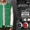 VARSITY BOSTON CELTICS - JAKET NBA TEAM ORDINAL APPAREL