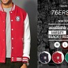 VARSITY 76ERS 02 - JAKET NBA TEAM ORDINAL APPAREL