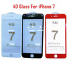 Tempered Glass 4D for iPhone 7