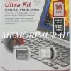 Sandisk Ultra Fit Flashdisk USB 3.0 16GB 130MBps