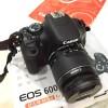 Kamera DSLR CANON EOS 600D + lensa 18-55 mm MULUS + LENGKAP