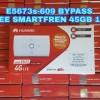 MIFI 4G LTE HUAWEI E5673 BYPASS FREE SMARTFREN 45GB 1THN