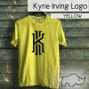 TShirt / Kaos Basketball NBA Player Kyrie Irving logo