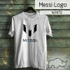 TShirt / Kaos bola football soccer futsal Lionel Messi logo