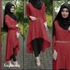 Baju hijab new safira maroon