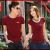 Atasan couple cp t-shirt levi's katun