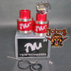 Twisted Messes 24mm RDA (Red colors) Clone