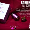 RABIES RDA 24MM AUTHENTIC BY DESIRE ATOMIZER FOR VAPORIZER VAPE