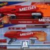 NERF MEGA TWINSHOCK / not Rotofury / Pistol NERF Blaster / NERF Besar