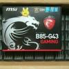 Motherboard Intel 1150 MSI B85-G43 Gaming
