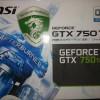 MSI Geforce GTX 750 Ti 2GB GDDR5