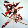 Daban MG 1/100 Astray Red Frame Kai Gundam
