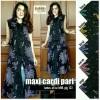 Maxi Cardigan Batik Pari