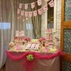 DESSERT TABLE BIRTHDAY PARTY BABY GIRL