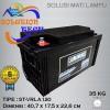 Aki Kering / Baterai VRLA 120ah Luminous AGM Deep Cycle