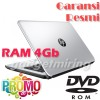 HP Notebook 14 - BS003TU - Silver [N3060/4GB/14Inch/DOS] Laptop Murah