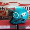 Helm KYT MINE ICE BLUE SOLID