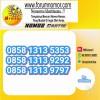Nomor CantikMentari(ooredoo)(AbAbCdCd)0858 1313 5353,9292&9797#L7P-675
