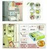 Kulkas organizer rak refrigerator praktis multifungsi