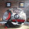 helm KYT Elsico - Black Cream