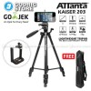 Attanta Kaiser 203 Video LightWeight Tripod DSLR Smartphone + Holder U