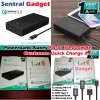 LIGHTNING POWERBANK AUKEY PB-T11 30000mAh, POWER BANK QUICK CHARGE 3.0