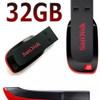 Flashdisk SanDisk Cruzer Blade 32GB USB Flash Drive Cz50 ORIGINAL
