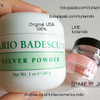 SHARE IN JAR - MARIO BADESCU SILVER POWDER ORIGINAL USA 100%