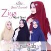 bergo/kerudung hijab pesta panjang/syari ziya ori nuhijab bubble crepe