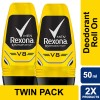 Rexona Men Anti-Perspirant Deodorant Roll On V8 50ml Twin Pack