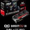 VGA/Graphics Card AMD Asus Strix R9 390 8GB DDR5
