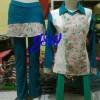 baju senam muslim / baju tenis / motif batik