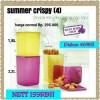 Summer Crispy Tupperware