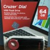 SANDISK CRUZER DIAL - 64 GB (RESMI)