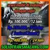 Rental Mobil 12 Jam Avanza/Xenia Rp. 300.000,-