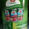 ABC Sardines Saus Tomat 425 Gr