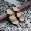Sandal Pria Navara Abel Brown Sandal Santai Sandal Handmade