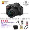 Nikon D5300 Kit 18-55 VRll Bonus Memory 16GB / Nikon D 5300 Kit VR2