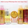 Shineskin Paket Luxury Whitening Glow Acne Super Step 1