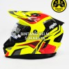 Helm MDS Super Pro Yellow Fluo Red Grey