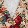 Dress Motif Bunga Tanpa Lengan BD395