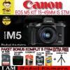 CANON EOS M5 / EOS M5 KIT 15-45MM - BLACK