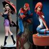 Sideshow Spiderman J Scott Campbell set spidey, gwen stacy, mary jane