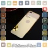 Aluminium Bumper with Mirror Back Cover for iPhone 7 Plu`67CJ7H- Black