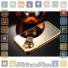 Aluminium Bumper with Mirror Back Cover for iPhone 6/6s`67CDL2- Golden