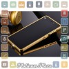 Aluminium Bumper with Mirror Back Cover for Xiaomi Mi 4`67CPP8- Golden